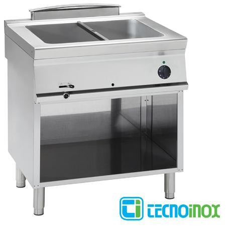 Elektro-Bain-Marie Tecnoinox BM8FE7 2 x GN 1/1 Gastronomie-Speisenwärmer