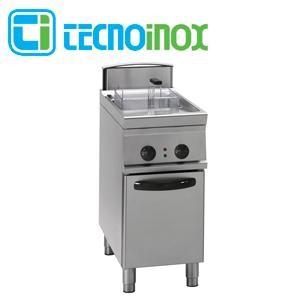 Elektro-Fritteuse Tecnoinox 1x13 Liter 12 kW FR43FE9 Gastronomie-Friteuse Profi 900